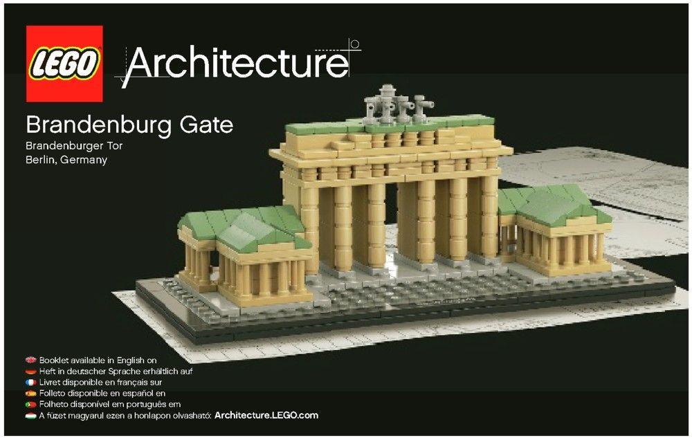 Architecture Brandenburg Gate Lego 21011 Lego Architecture Brandenburg Gate Lego Architecture Series