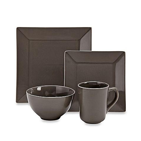 Real Simple® Square Smoke Dinnerware  sc 1 st  Pinterest & Real Simple® Square Smoke Dinnerware | Kitchen | Pinterest | Real ...