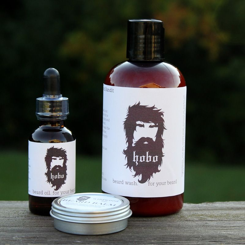 Boxcar Trio Pack Wash Oil And Balm Beard Wash Beard Oil Beard Oil And Balm