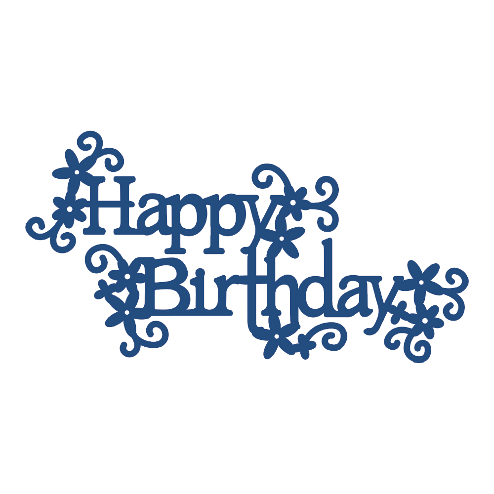 TATTERED LACE DIE   HAPPY BIRTHDAY WITH EMBELLISHMENTS Detailed and  delicate  Tattered Lace Dies are. TATTERED LACE DIE   HAPPY BIRTHDAY WITH EMBELLISHMENTS Detailed