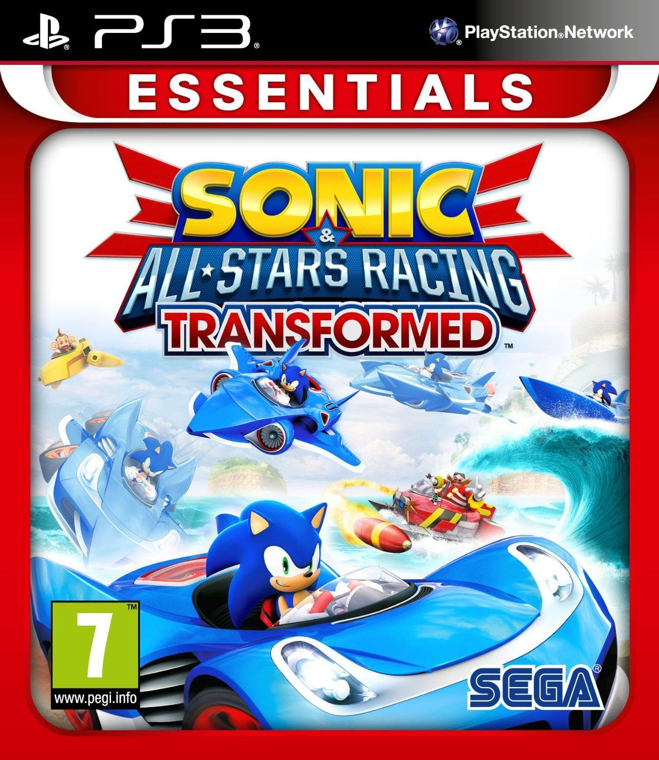 Sonic All Star Racing Transformed Essentials Sonic And The All Stars Cast Line Up On The Starting Grid Once Ukonlineshopping Uk Nintendo 3ds All Star Sonic