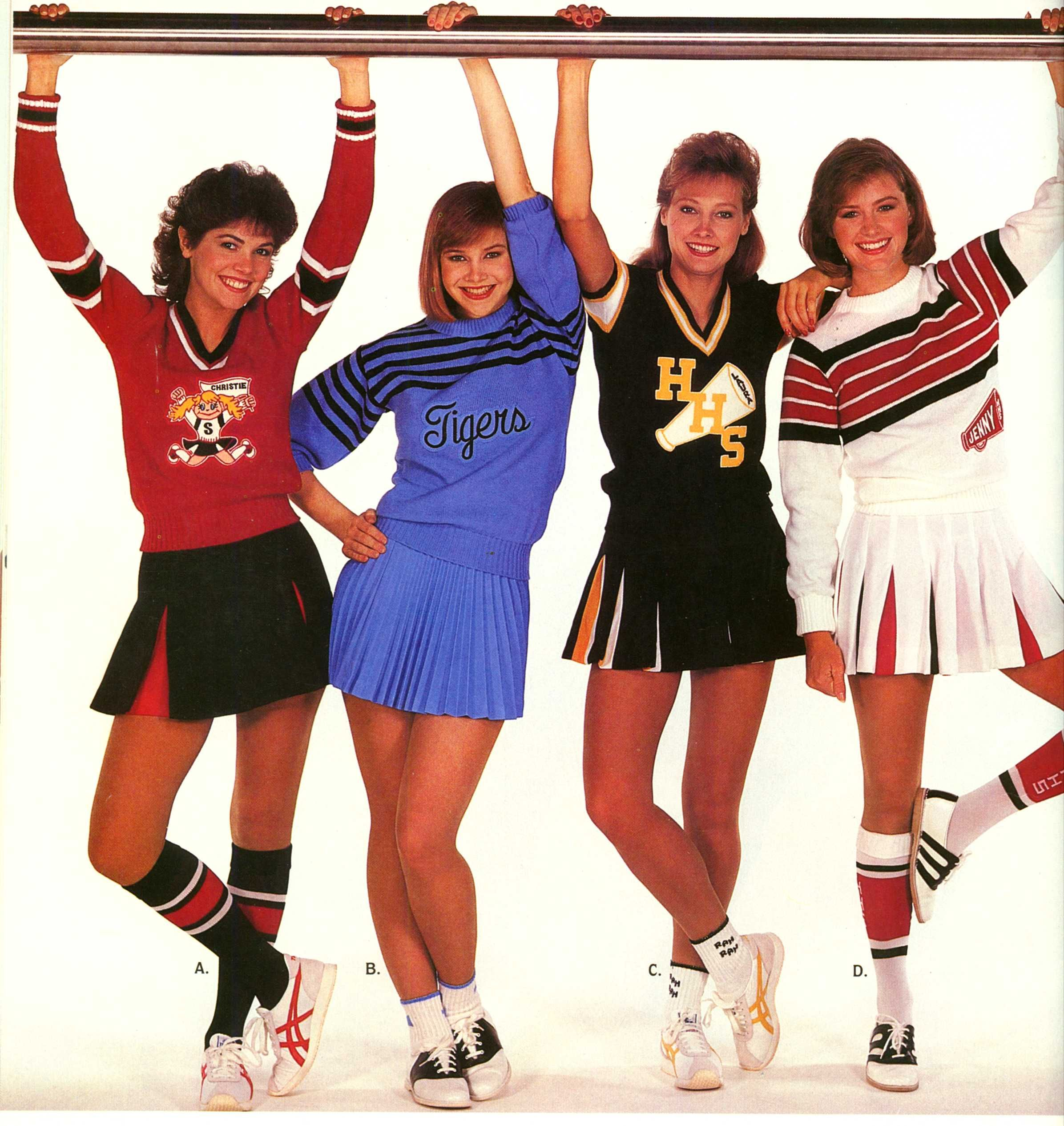 Totally remember this cheer catalog and
