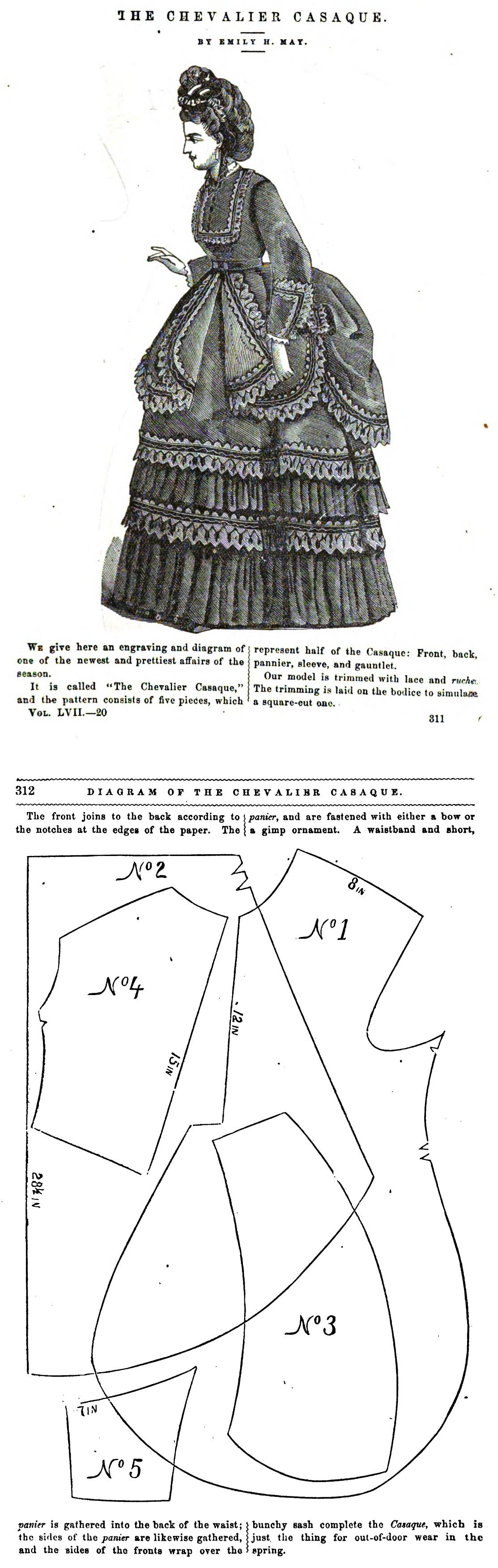 Peterson\'s Magazine 1870 | Victorian/Edwardian | Pinterest ...