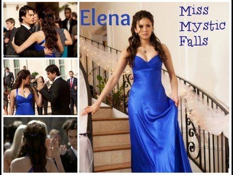 Elena Gilbert Miss Mystic Falls Inspired Hair Tutorial Hair