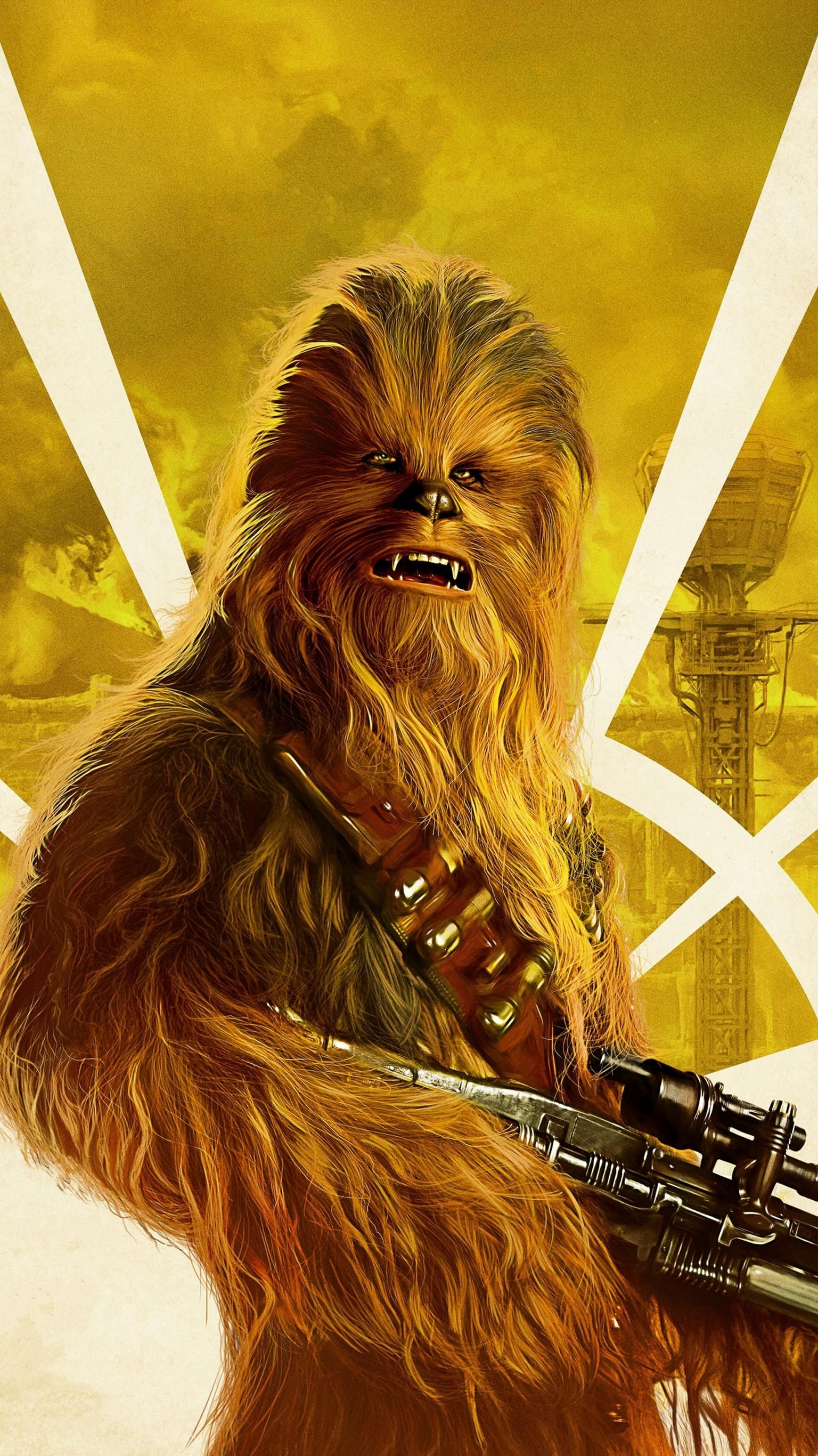 Solo A Star Wars Story 2018 Phone Wallpaper Moviemania In 2020 Star Wars Chewbacca Star Wars Poster Star Wars Wallpaper