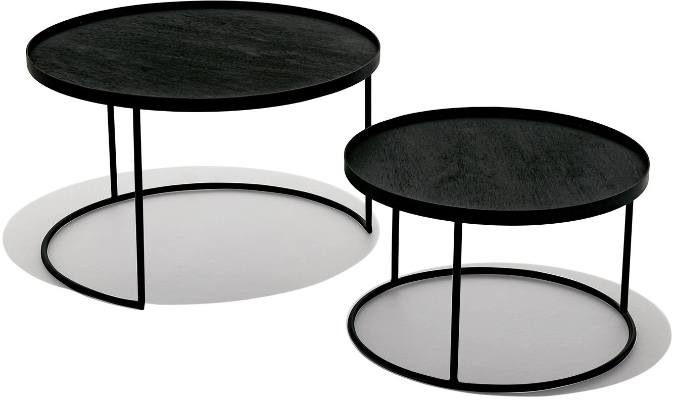 Studio Tray Tables Set Low Tray Table Nesting Coffee Tables Low Coffee Table