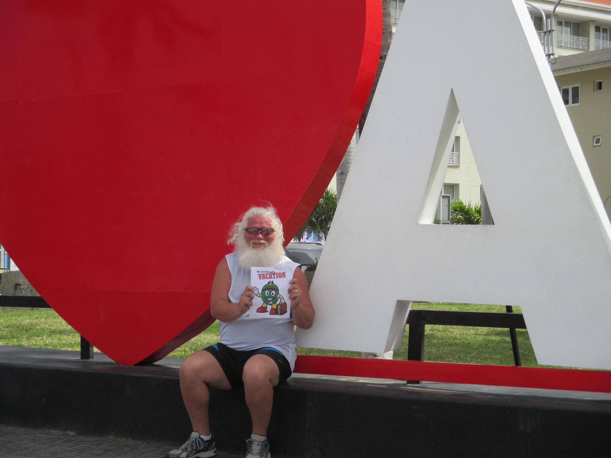 In Aruba!