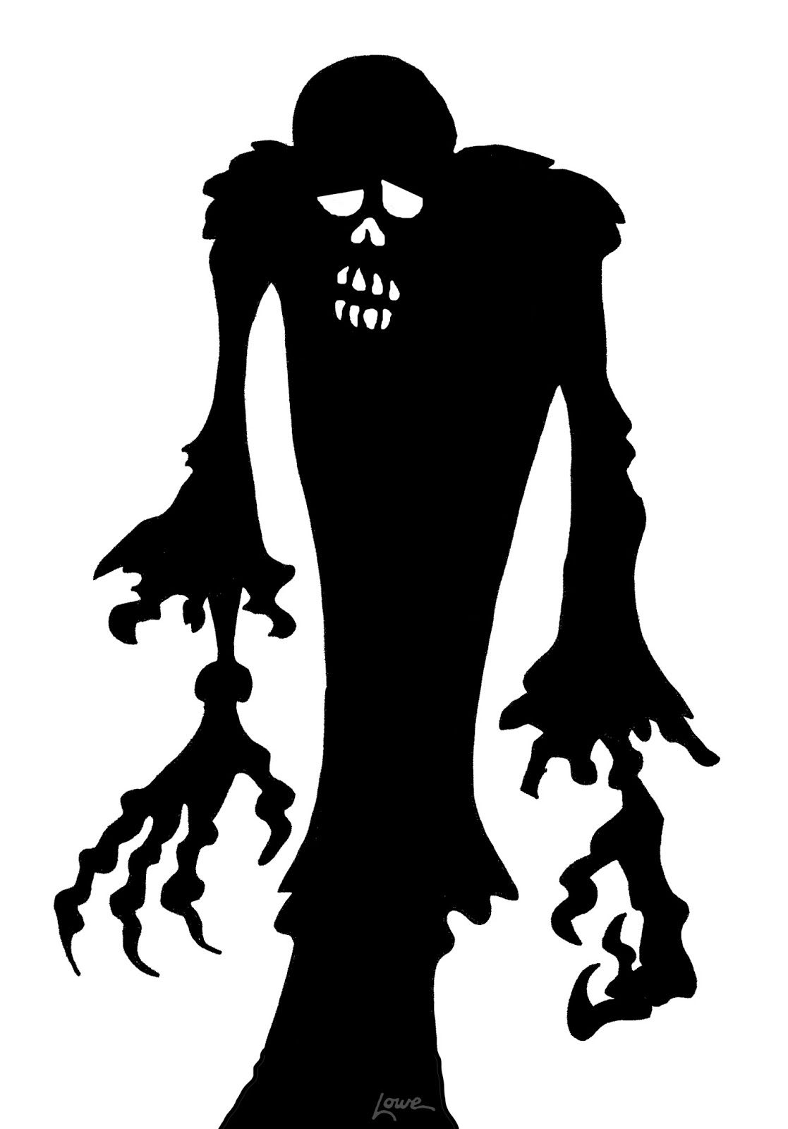 1000+ images about halloween silhouettes and decorations on ...