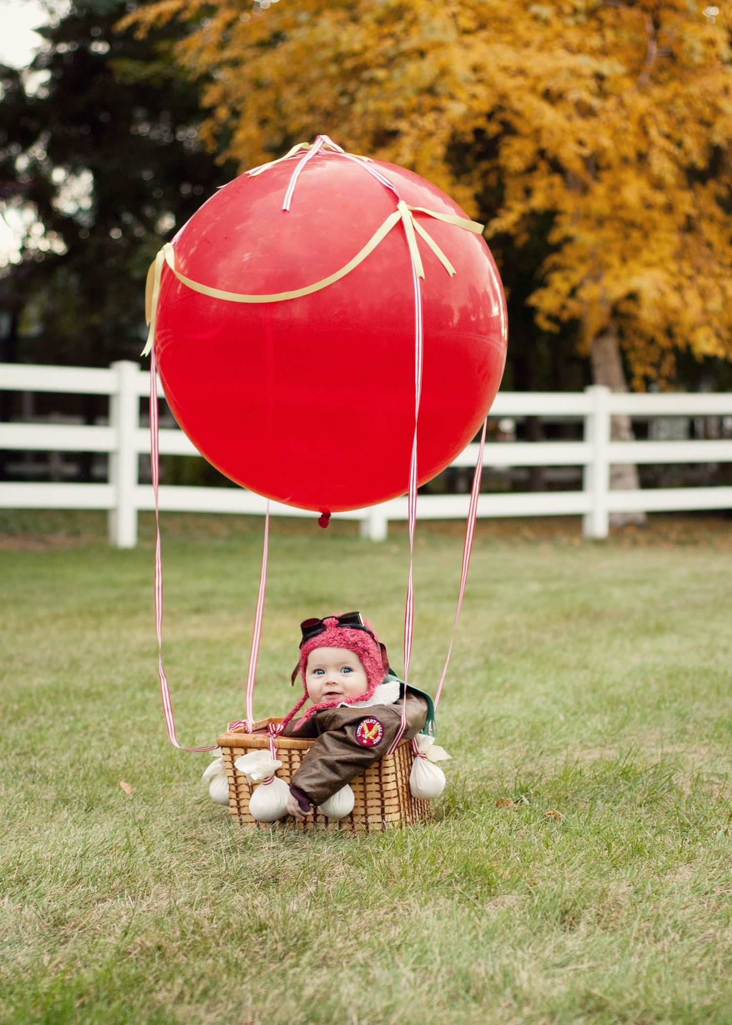 hot air balloon pilot costume Past halloween in 2019