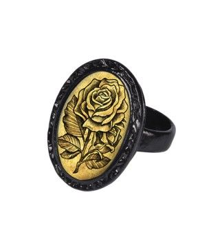 Retro & Vintage Jewelry & Accessories Gypsy Rose Victorian Oval Ring - Rings - Shop by Category