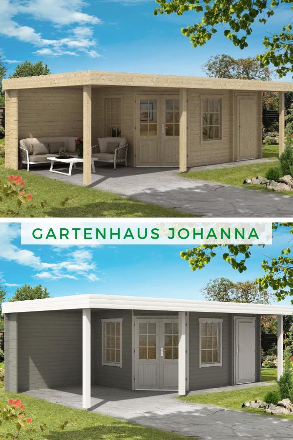 Gartenhaus Johanna40 Plus Gartenhaus, Gartenhaus mit