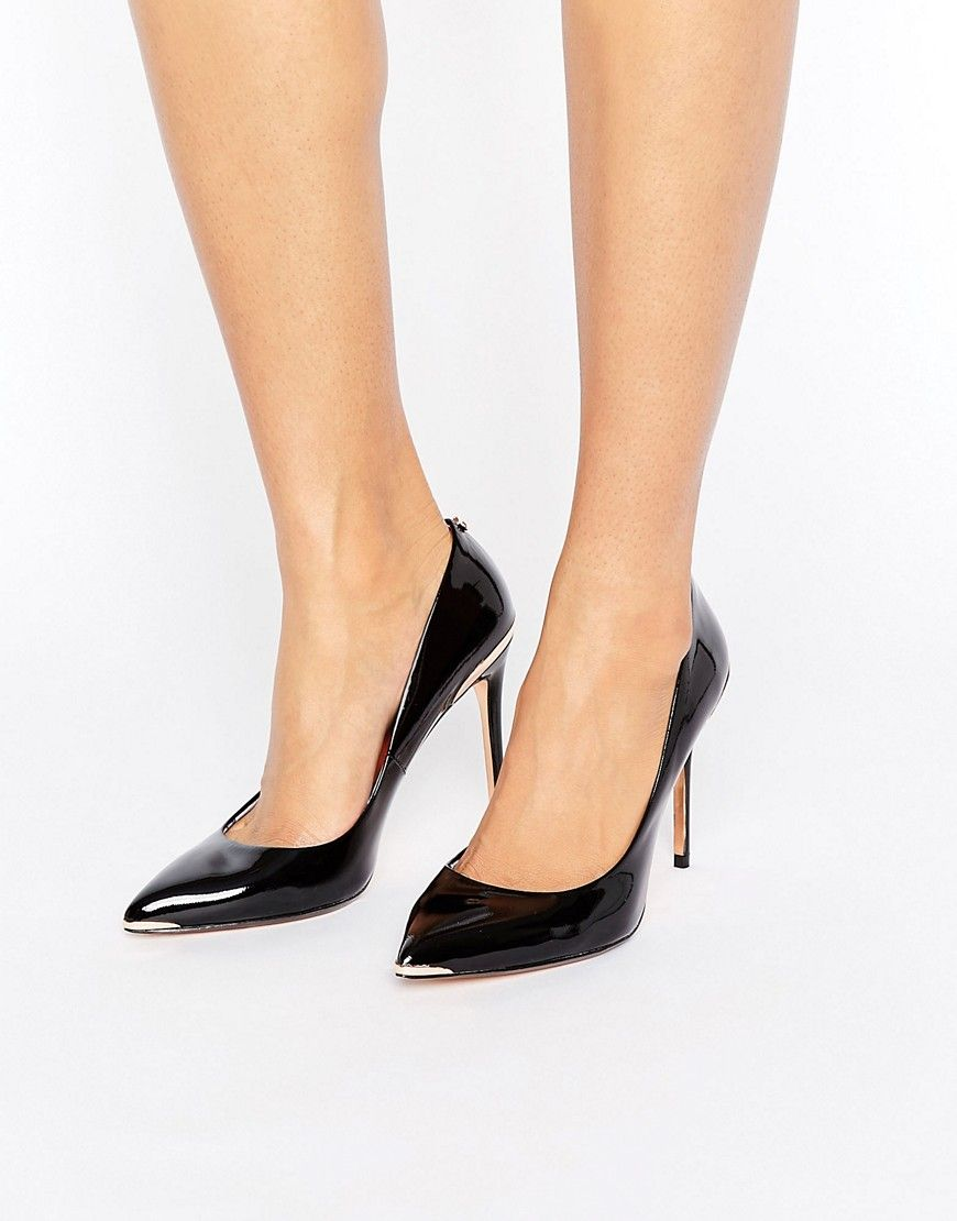 eebb734ffedb Ted Baker Kaawa Black Patent Leather Pumps - Black