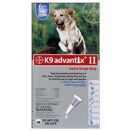 K9 Advantix Ii 12 Pk Blue Dog Over 55 Lbs Insider S Special Review You Can T Miss Read More Flea And Tick Control Tick Control For Dogs Fleas Dogs