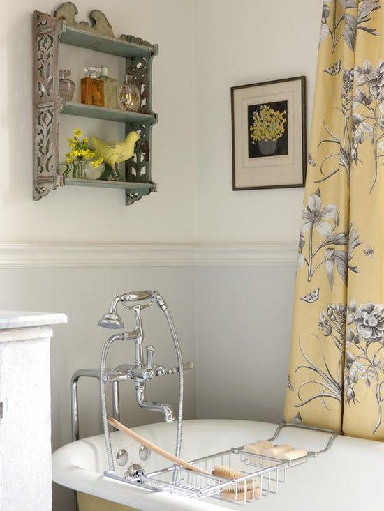 Décoration de salle de bain country Un autre élément inusité présent - Que Faire En Cas D Humidite Dans Une Maison