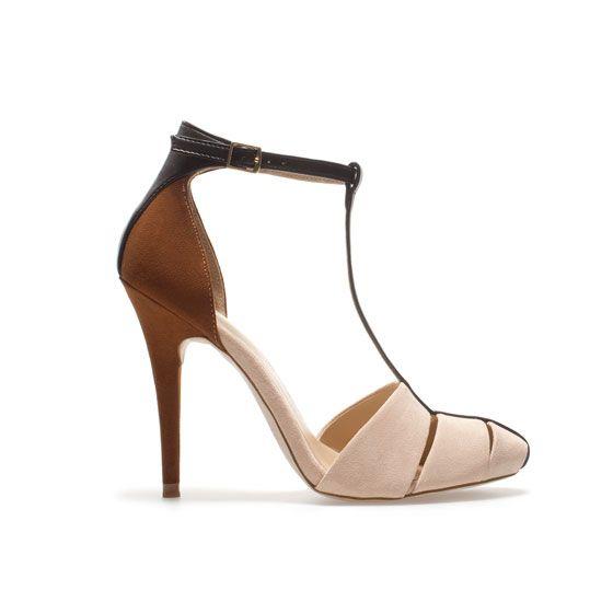 high heel sandal - shoes - woman - zara greece   zapatos   pinterest
