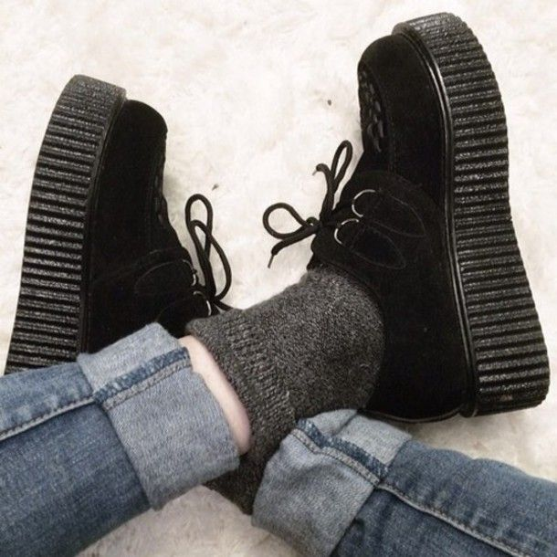 sports shoes 5ec38 38fd8 creepers shoes tumblr - Buscar con Google