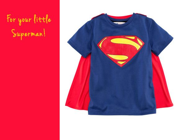 Kids Superman T Shirt from H and M