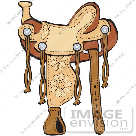 western clip art western clip art 11 450 450 cowboys and rh pinterest com Back On Horse with Saddle Coloring Pages Horse Bridle Clip Art