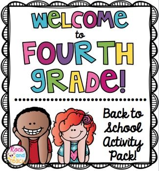 First Day of School Icebreakers & Activities for First Grade