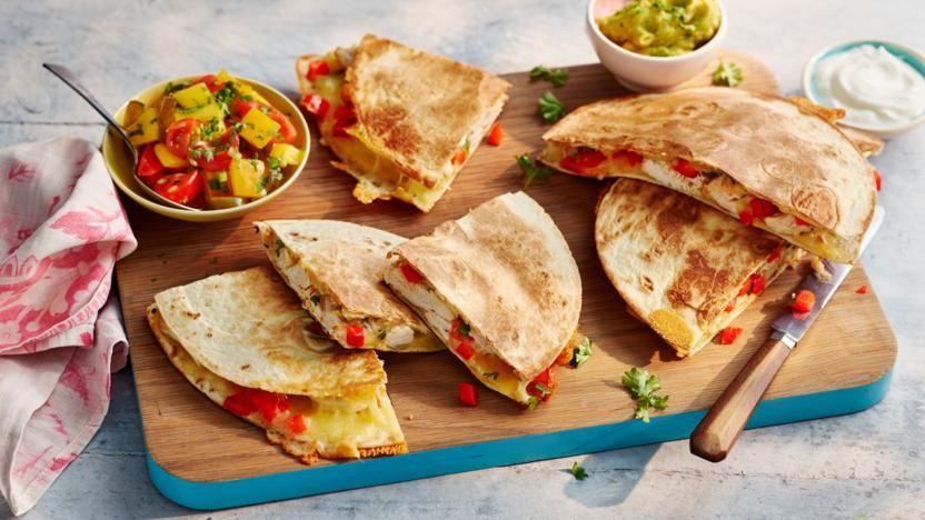 Chicken And Cheese Quesadillas Recipe Recipe Cheese Quesadilla Recipes Cheese Quesadilla Recipe