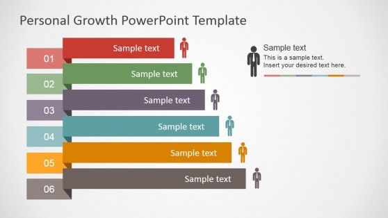 Personal Growth PowerPoint Template | Templates, Charts and Shape