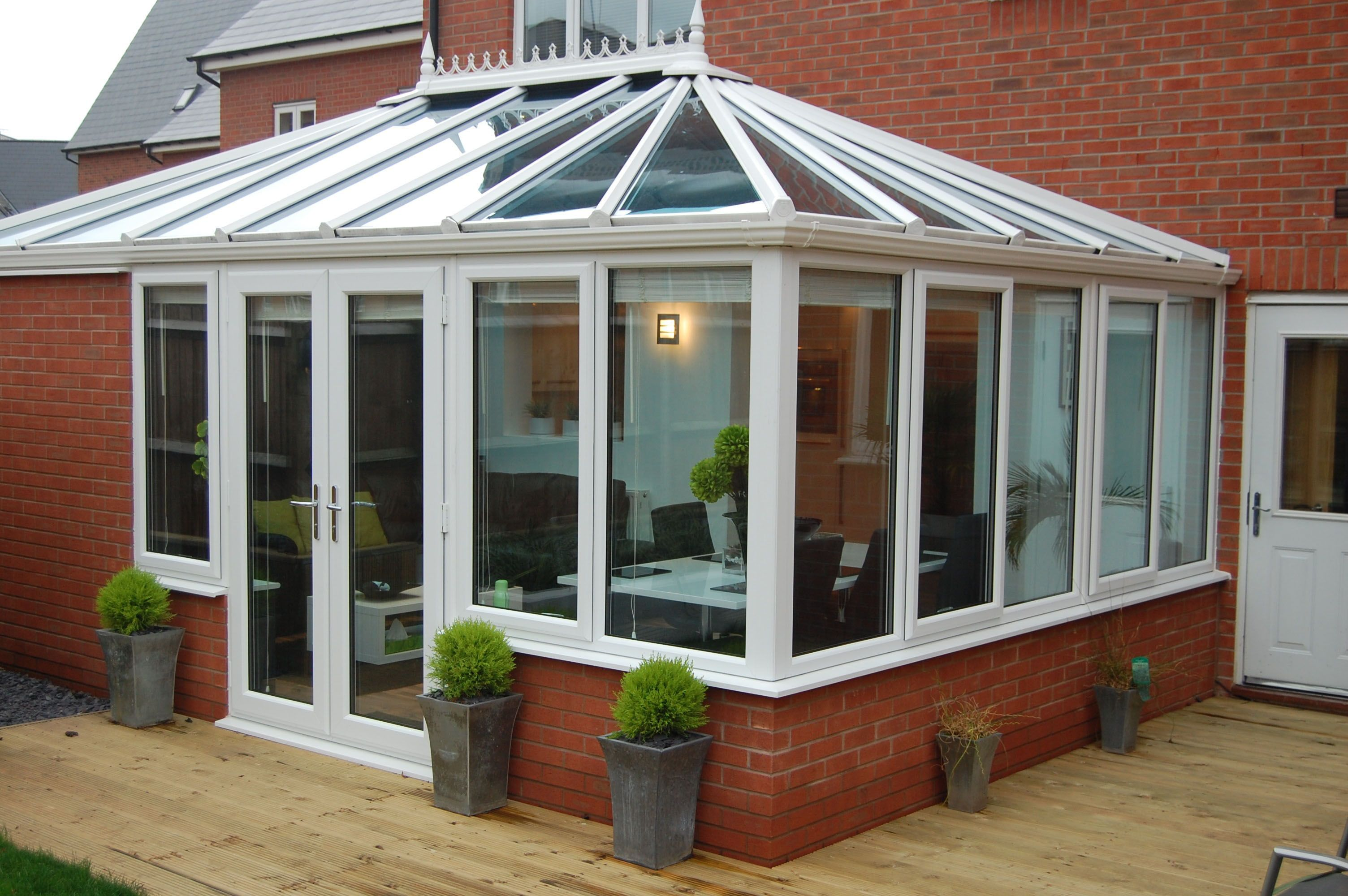 Do You Like This Style Of Conservatory Would You Like Something Similar For Your Own Home You Can Get A Free No Obl Idei Ustrojstva Zadnego Dvora Veranda Dom