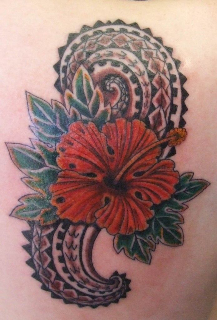 f616d5537 Hawaiian Flower Tattoos and Their Meanings | Hawaiian Tattoos Designs,  Ideas and Meaning
