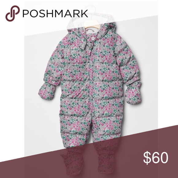 79d579aa2eee Baby Gap Snowsuit size 18-24 months New in perfect condition. Gap ...