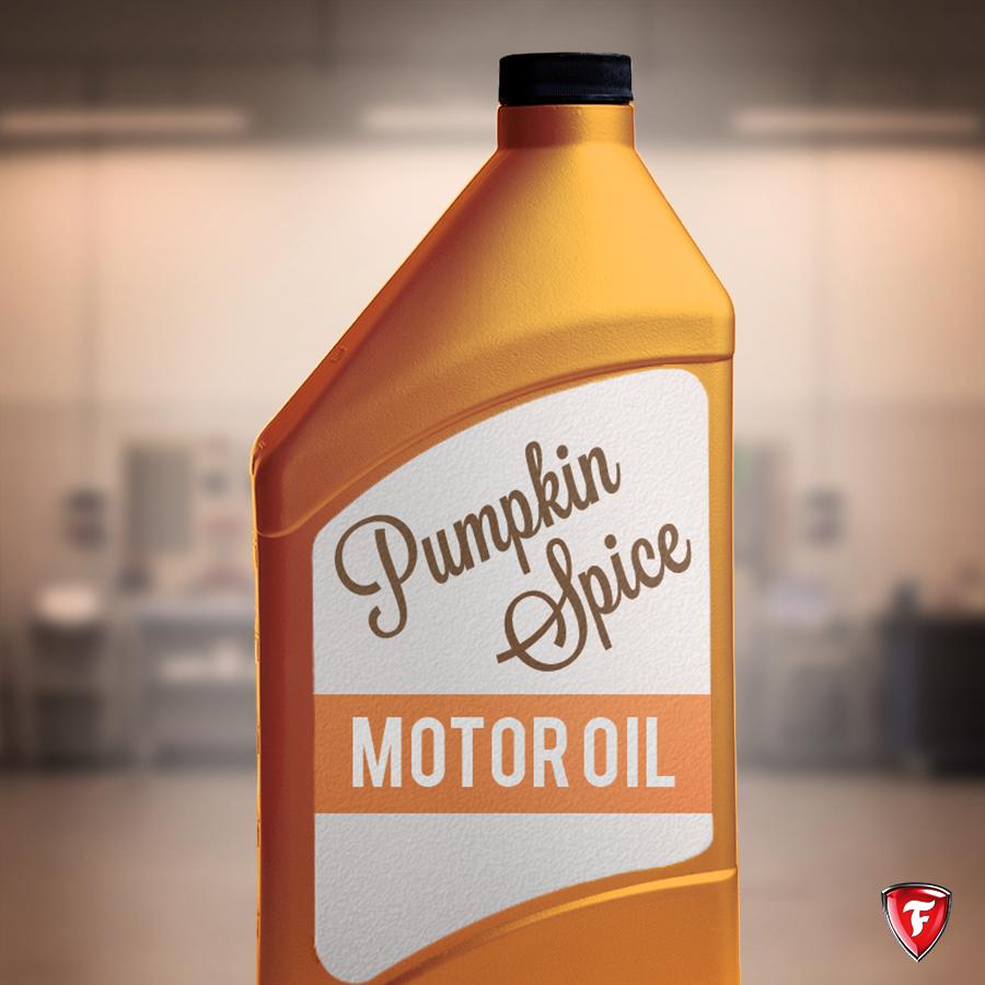 Pumpkin Spice Oil Change Meme