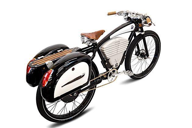 vintage electric e bikes im retro look klonblog. Black Bedroom Furniture Sets. Home Design Ideas