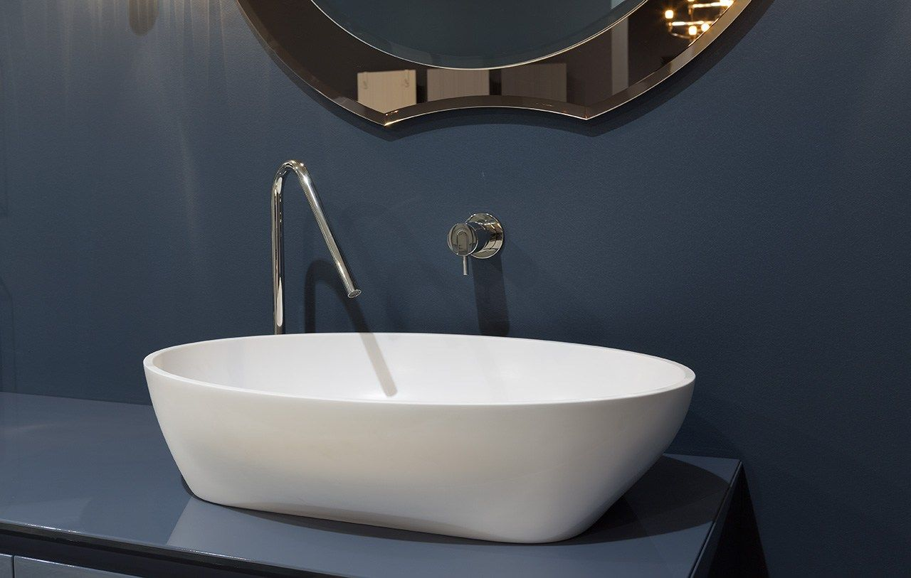 SOLIDEA - Made in Cristalplant. Design by Carlo Colombo | Sinks ...