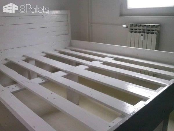 Pallet Bed Frame DIY Pallet Bedroom - Pallet Bed Frames & Pallet Headboards