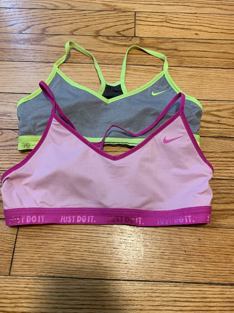 809d87461b6a2 nike sports bra Size Large Lot Of 2  fashion  clothing  shoes  accessories