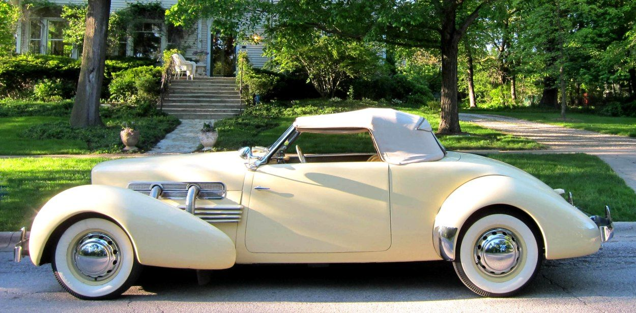 1937 Supercharged Cord Convertible (2)