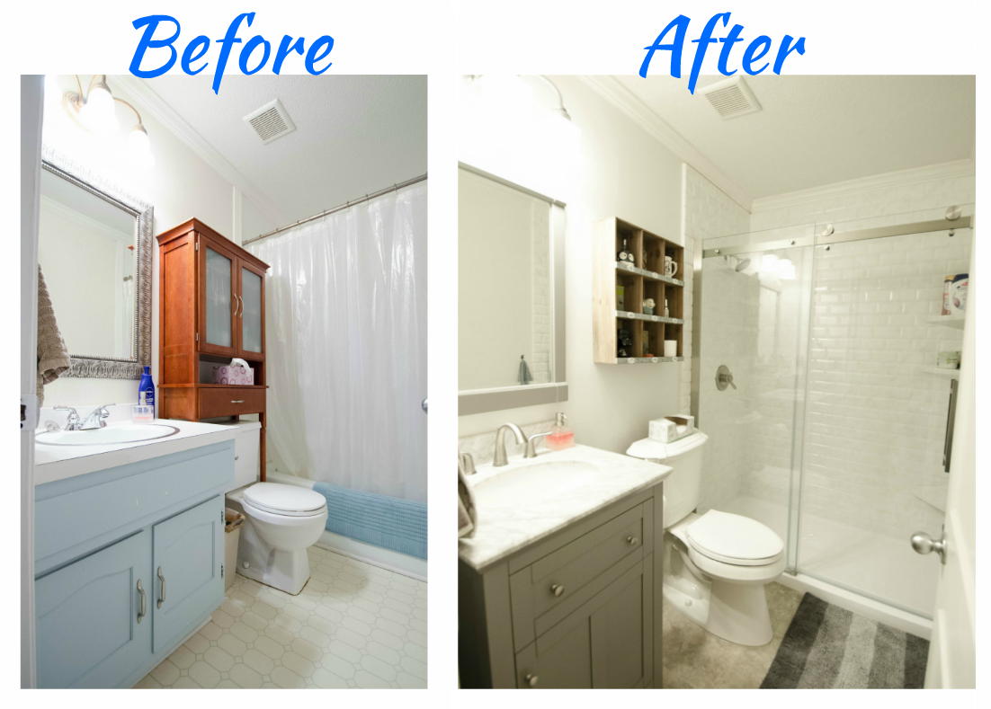 Complete bathroom remodel small spare bathroom remodel for Complete bathroom remodel