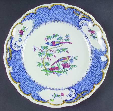 Spode Aviary Blue Border DISCONTINUED CHINA PATTERNS & Spode Aviary Blue Border DISCONTINUED CHINA PATTERNS | dinnerware ...