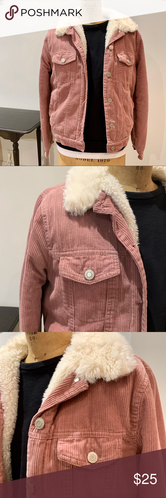 Denim And Co By Primark Corduroy Faux Fur Jacket Denim And Co Clothes Design Faux Fur Jacket [ 1740 x 580 Pixel ]
