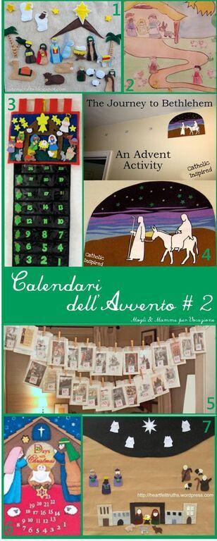 Calendario dell'Avvento: idee, foto ed esempi! | Attività ...