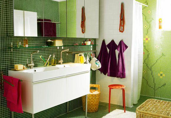 bano verde8 Arquitectura moderna y decoracion Pinterest