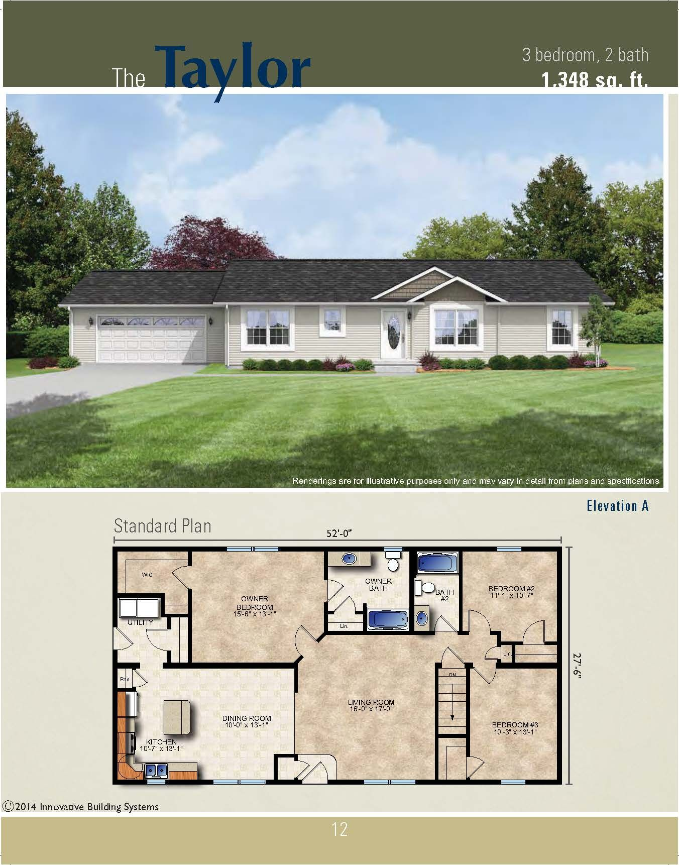 The Taylor Ranch Plan Our Future Home House Blueprints New House Plans Ranch House Floor Plans