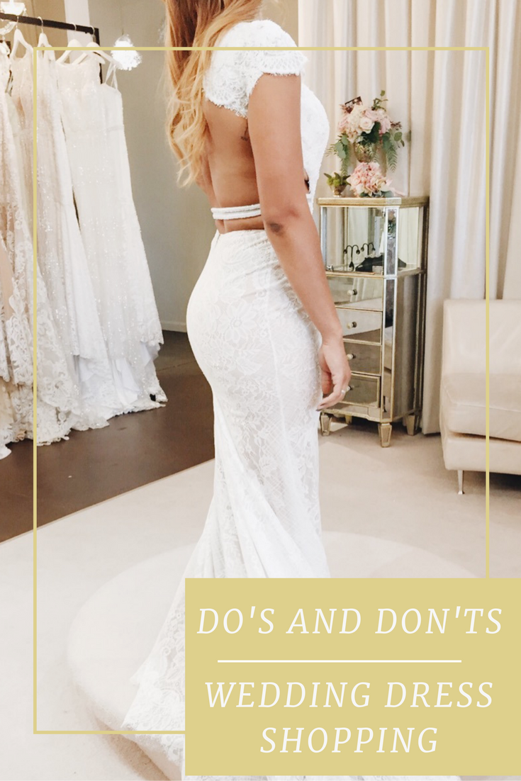 Follow these easy to tips to make wedding dress shopping stress free