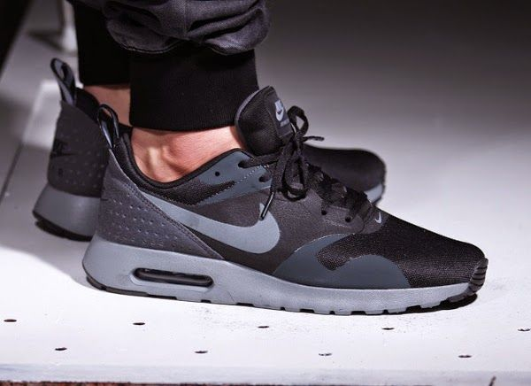 nike sportswear air max tavas - sneaker - black/cool grey/anthracite