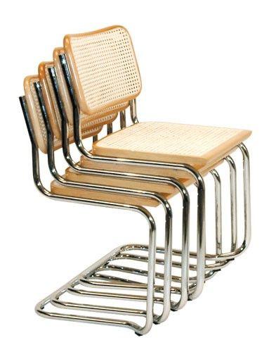 Dieser Freischwinger Ist Im Design Angelehnt An Den Bauhaus Klassiker Von Mart Stam Dieser Klassische Stuhl Ist Schlic Freischwinger Schwingstuhl Metallstuhle