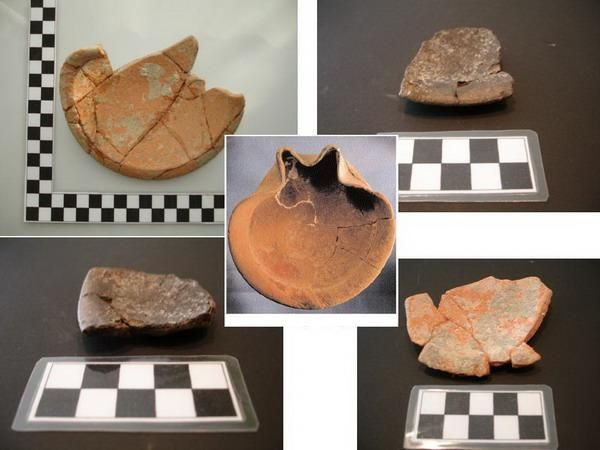 Lucernas fenicias  de los siglos VII - VI a. C. (Algarrobo, Málaga)