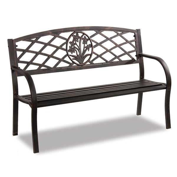 Steel Park Bench By Condor Manufacturing Is Now Available At American  Furniture Warehouse. Shop Our