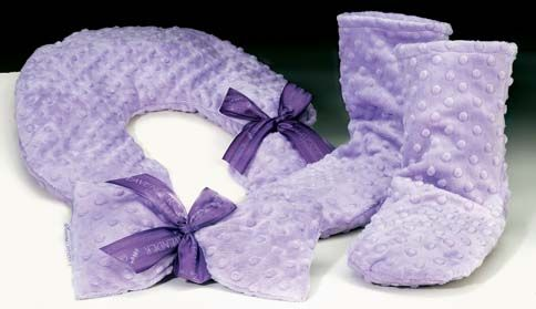 Sonoma Lavender Lilac Dot Neck Pillow Is The Ultimate In Relaxation