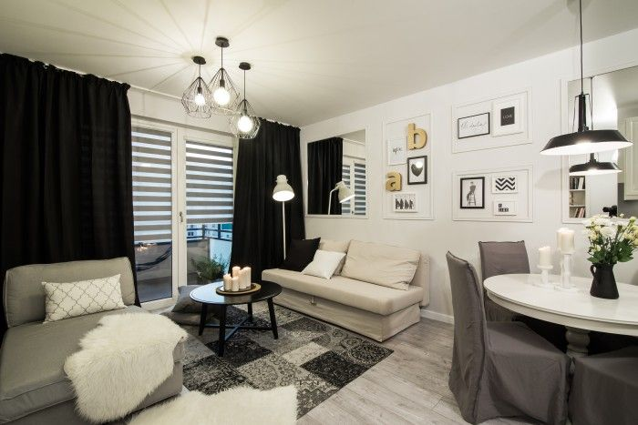 Salon Z Aneksem Kuchennym Home Home Decor Interior Design