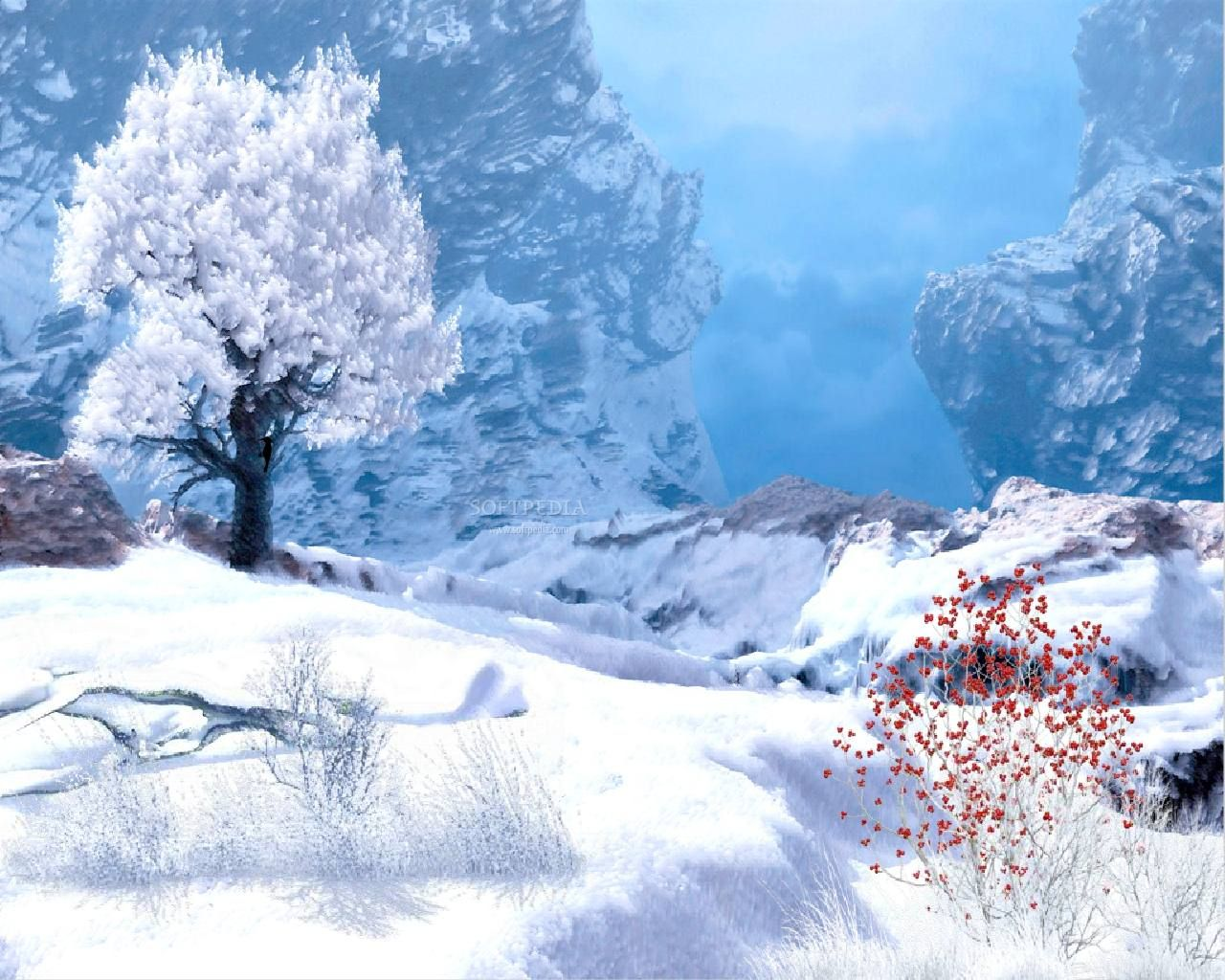 Free Animated Winter Desktop Wallpaper free desktop