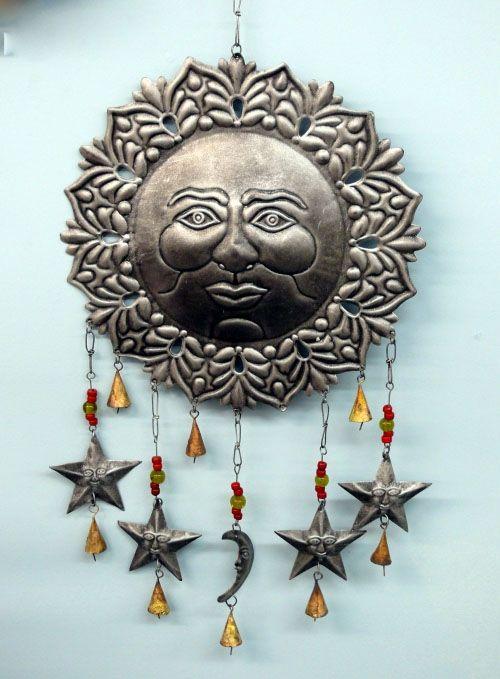 Metal Wall Art Sun Moon And Stars Www Brilliantwallart Co Uk