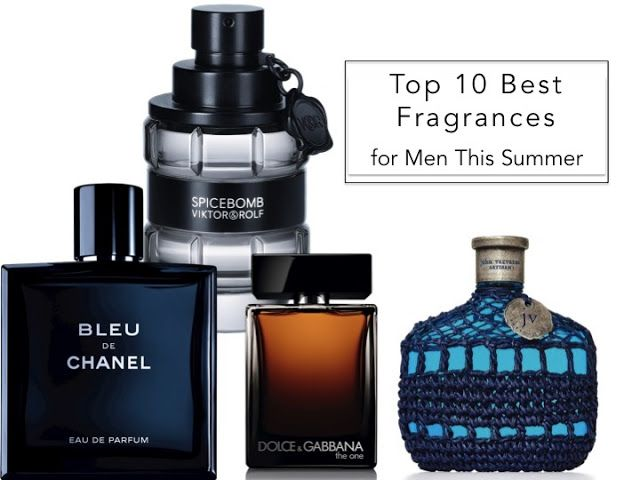 Top 10 Fragrances For Men This Summer